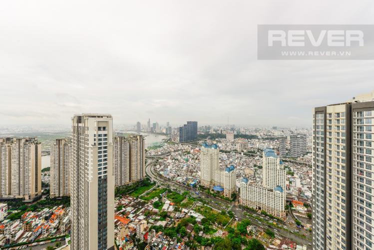View Cho thuê căn hộ Vinhomes Central Park tầng cao, view đẹp, đầy đủ nội thất