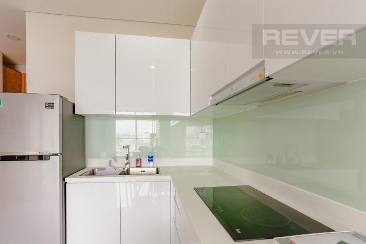 Phòng Bếp Căn hộ An gia Skyline 2 phòng ngủ tầng thấp nội thất đầy đủ