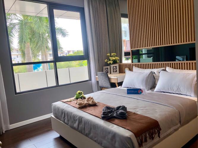 Phòng ngủ căn hộ Akari City, Bình Tân Căn hộ chung cư Akari City ban công hướng Nam, view đón gió mát.