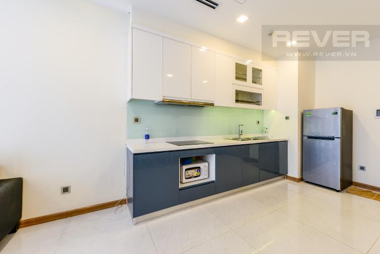 Bếp Căn hộ Vinhomes Central Park 2 phòng ngủ tầng trung P1 view nội khu