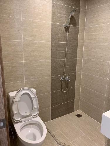 nhà tắm căn hộ Vinhomes Grand Park Căn hộ Vinhomes Grand Park tầng 32 view thành phố, không gian yên tĩnh