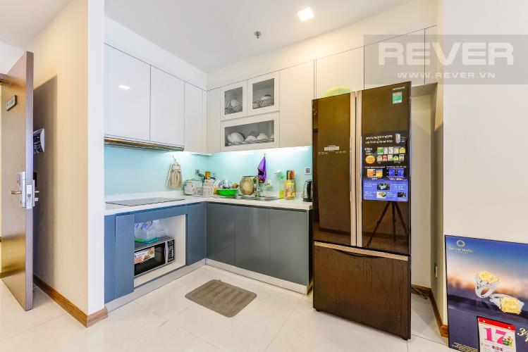 Bếp Căn hộ Vinhomes Central Park tầng cao, tháp Park 6, 2 phòng ngủ, full nội thất