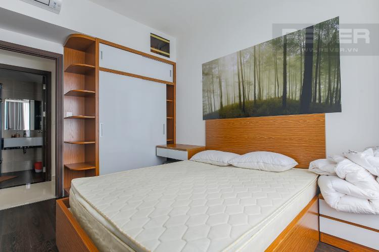 Phòng Ngủ 2 Căn hộ The Tresor tầng cao, 2PN, đầy đủ nội thất