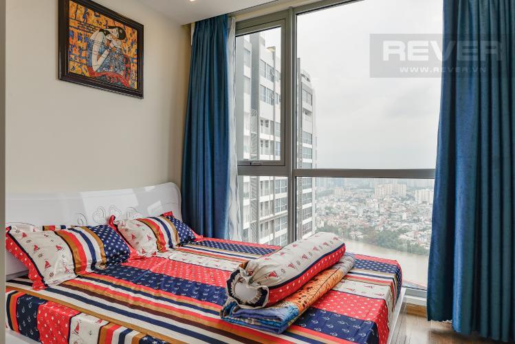 Phòng ngủ 2 Căn hộ Vinhomes Central Park 2 phòng ngủ, tầng cao P6, nội thất đầy đủ