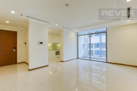 Bán căn hộ Vinhomes Central Park 3PN, tầng thấp, nội thất cơ bản, ban công Đông Nam thoáng mát