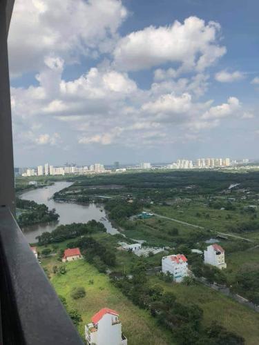 view căn hộ Saigon South Residence Căn hộ Saigon South Residence đầy đủ nội thất, ban công hướng Bắc