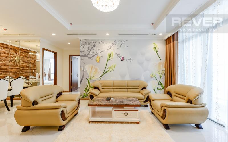 Phòng khách Căn hộ 3 phòng ngủ tiện nghi, đẳng cấp tại The Central 1, Vinhomes Central Park