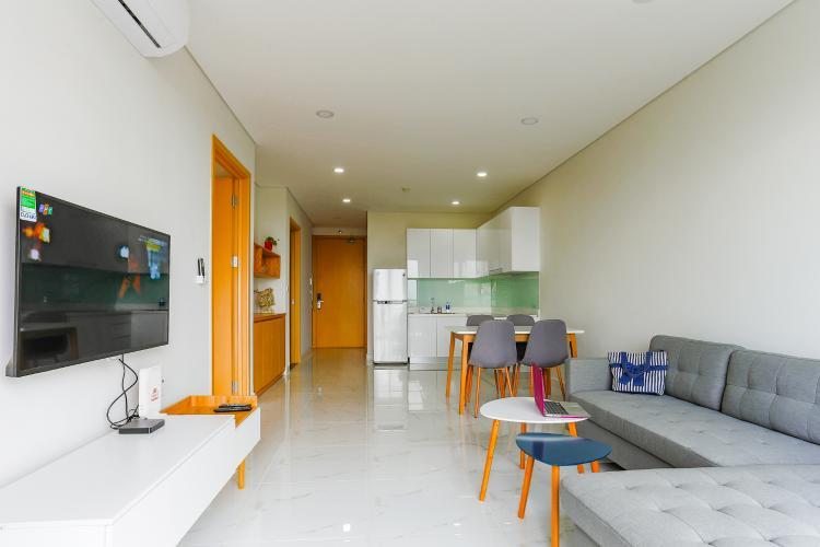 Căn hộ An gia Skyline 2 phòng ngủ tầng thấp nội thất đầy đủ