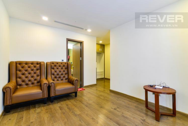 Phòng Ngủ 1 Căn hộ Vinhomes Central Park 3 phòng ngủ tầng cao Park 2 hướng Nam, full nội thất