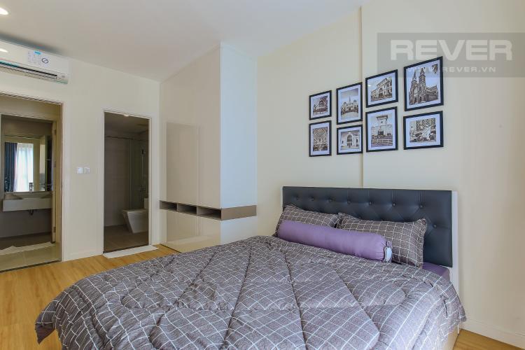 Phòng Ngủ 1 Cho thuê căn hộ Masteri Millennium tầng cao, 2PN nội thất đầy đủ, có thể dọn vào ở ngay