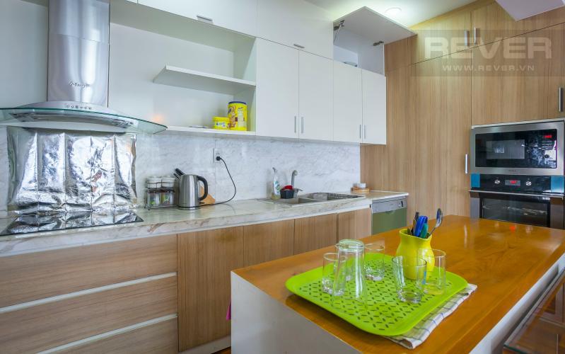 Nhà Bếp Căn hộ Happy Valley tầng thấp 3 phòng ngủ thiết kế đẹp, tiện nghi