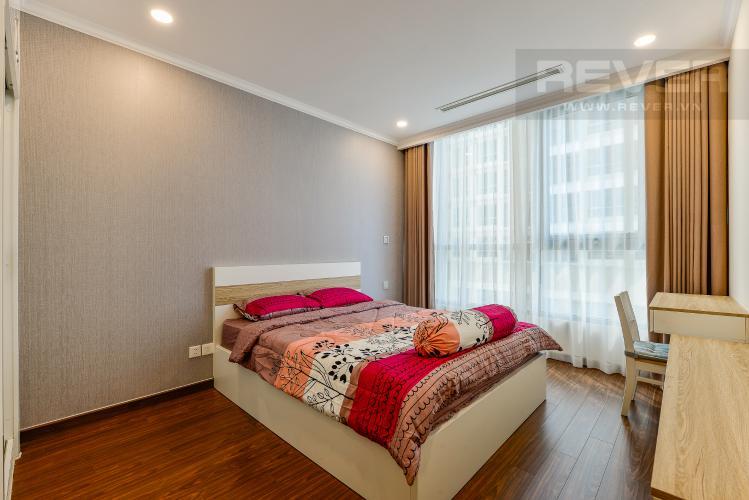 Phòng ngủ 1 Căn hộ Vinhomes Central Park 2 phòng ngủ tầng cao L6 nội thất đầy đủ