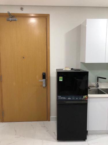 Nhà bếp căn hộ An Gia Skyline Bán căn hộ view thành phố An Gia Skyline, trang bị đầy đủ nội thất.