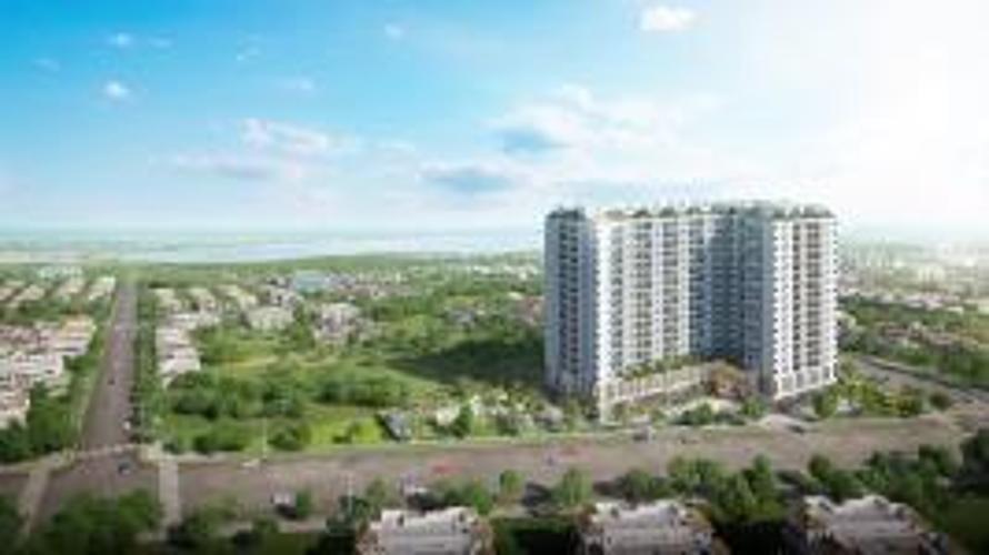 View căn hộ Ricca Bán căn hộ Ricca 2PN, tầng trung, block B, không nội thất, chưa bàn giao