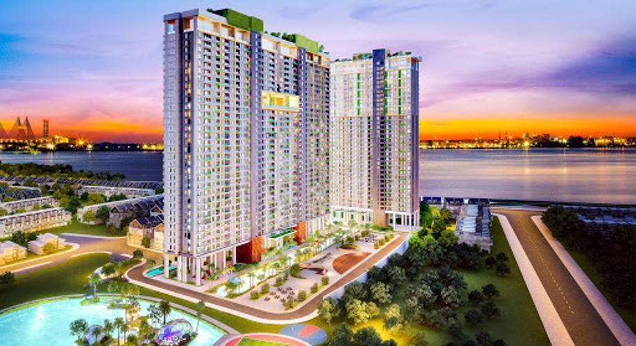 Bán căn hộ thô tầng cao River Panorama, thuận tiện đầu tư và thiết kế.