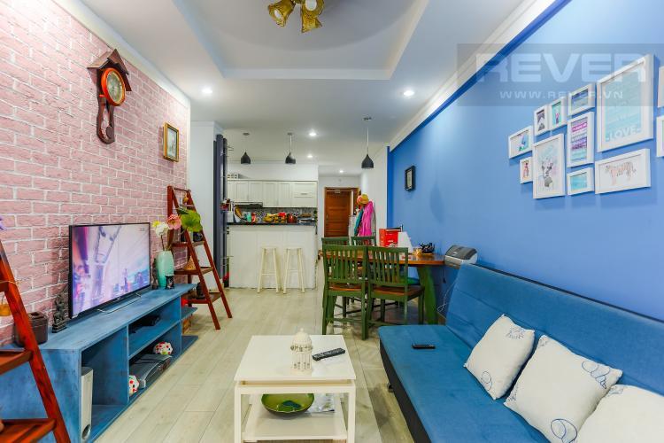 Phòng Khách Căn hộ Hoàng Anh Thanh Bình 3 phòng ngủ tầng cao tháp B đầy đủ tiện nghi