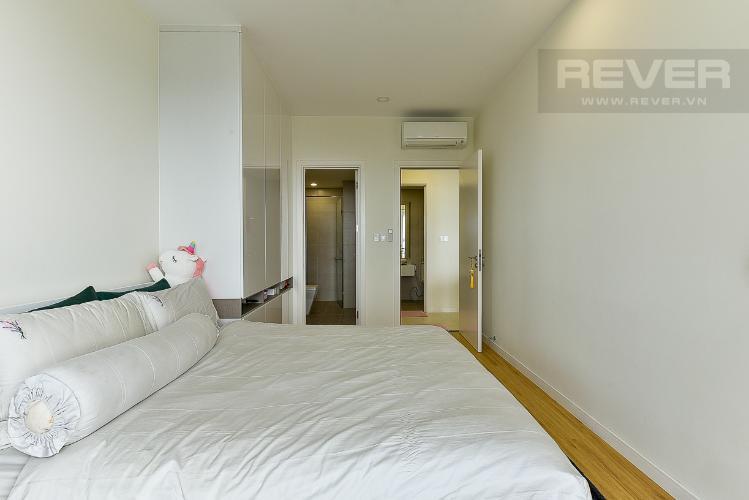 Phòng ngủ căn hộ MASTERI MILLENNIUM Bán căn hộ Masteri Millennium 2PN, tầng cao, đầy đủ nội thất, ban công hướng Nam