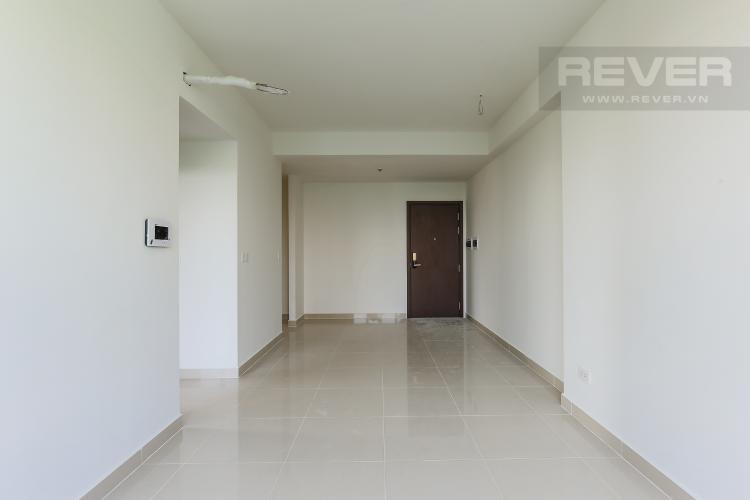 Phòng Khách Căn góc The Tresor 2 phòng ngủ tầng thấp TS1 không có nội thất