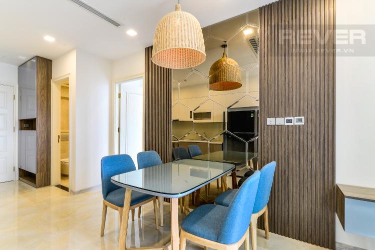 Phòng Ăn Căn hộ  Vinhomes Golden River tầng cao 1 phòng ngủ, 55m2, full nội thất