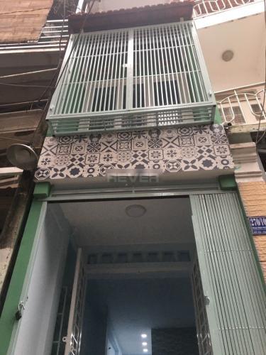 Chính diện nhà phố Phú Nhuận Nhà hẻm Phan Đình Phùng, Phú Nhuận hướng Đông, dọn vào ở ngay.