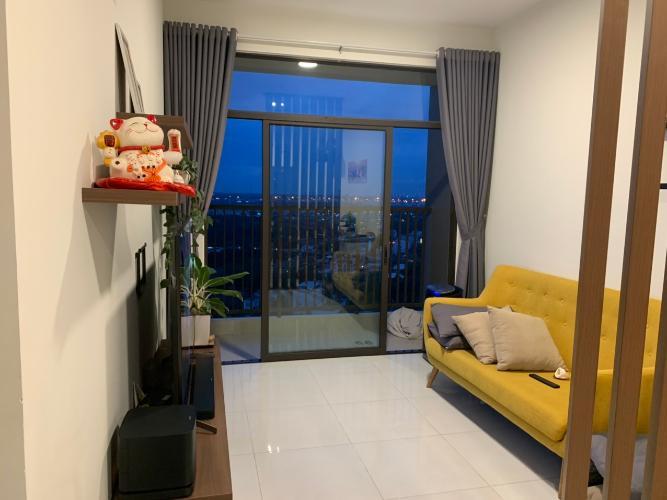 Phòng khách Jamila Khang Điền, Quận 9 Căn hộ Jamila Khang Điền 2 phòng ngủ, hướng Tây Bắc.
