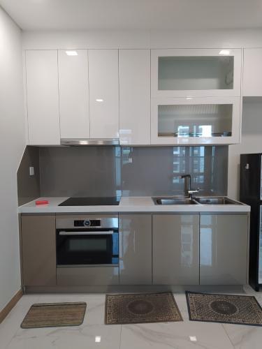 Phòng bếp Vinhomes Central Park Căn hộ Vinhomes Central Park tầng cao, đón hướng nội khu.