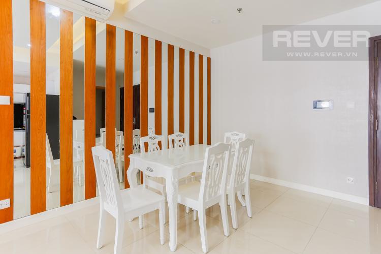 Phòng Ăn Căn hộ Sunrise City tầng thấp W3 thiết kế 2 phòng ngủ thông thoáng