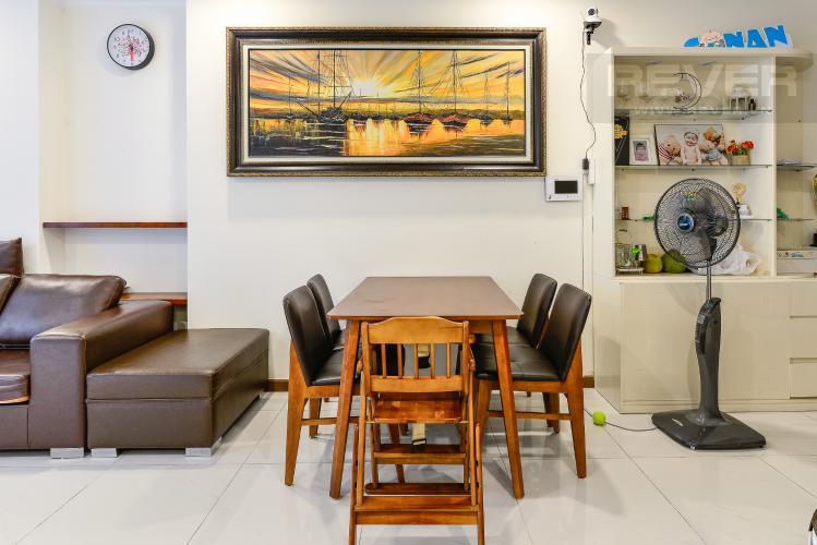 Phòng Ăn Bán căn hộ Vinhomes Central Park tầng cao 2PN view sông