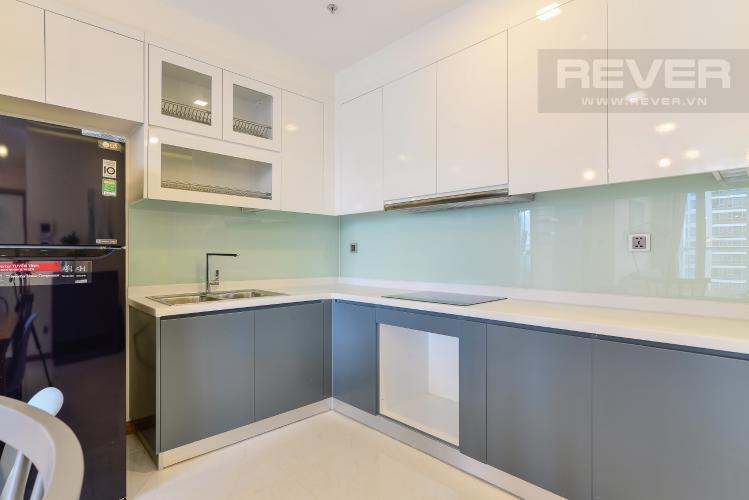 Nhà bếp Căn hộ Vinhomes Central Park 2 phòng ngủ, tầng cao P6, nội thất đầy đủ