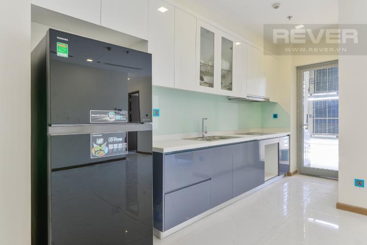 Nhà Bếp Cho thuê căn hộ Vinhomes Central Park tầng cao, 3PN đầy đủ nội thất, tiện nghi, view sông thoáng mát