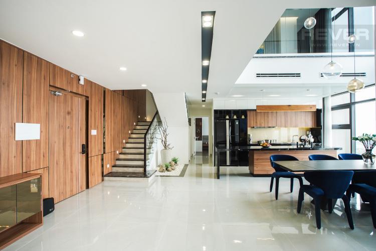 Bán Penthouse Jamila Khang Điền 3PN, diện tích 243m2, thiết kế thông tầng, đầy đủ nội thất cao cấp, view sông và thành phố