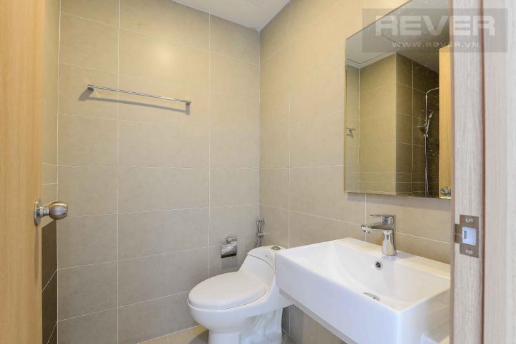 Toilet Cho thuê căn hộ The Sun Avenue 1PN, tầng cao, nội thất cơ bản, view sông thoáng mát