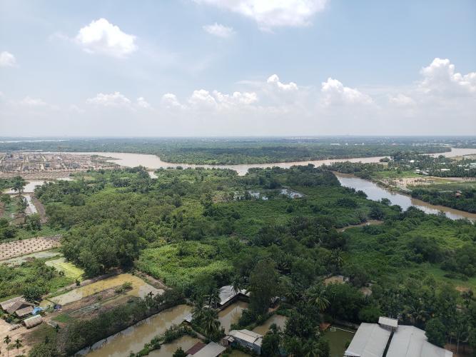 View Vinhomes Grand Park Quận 9 Căn hộ Vinhomes Grand Park tầng cao, view sông thoáng đãng.