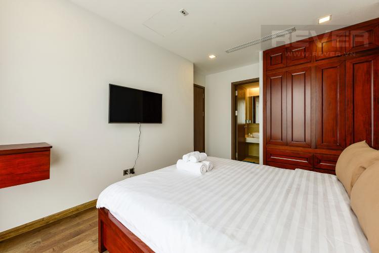 Phòng ngủ 1 Căn hộ Vinhomes Central Park 2 phòng ngủ tầng trung P7 nội thất đầy đủ