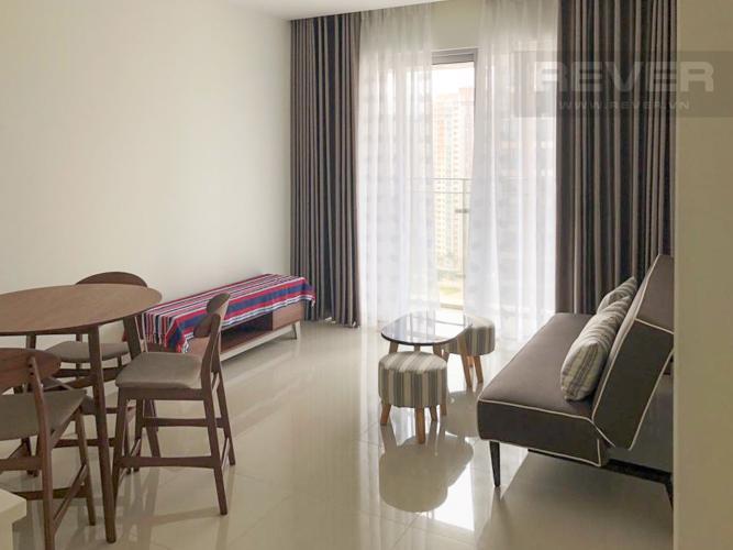 Phòng Khách Cho thuê căn hộ Estella Heights 1PN, tầng trung, diện tích 59m2, đầy đủ nội thất