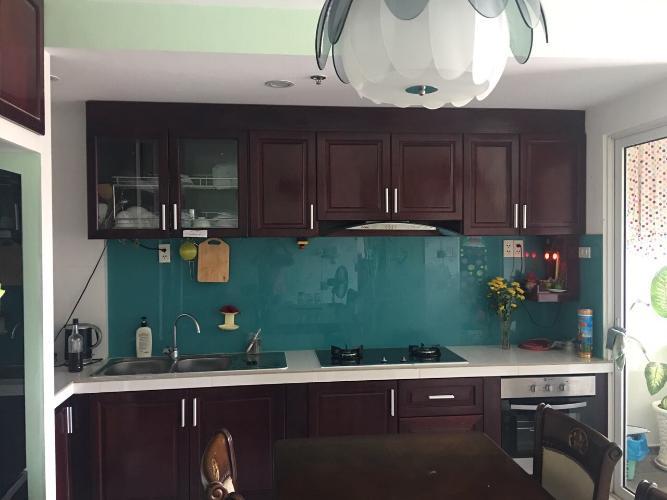 Bếp căn hộ Tropic Garden Bán căn hộ Tropic Garden tầng trung, diện tích 88m2 - 2 phòng ngủ, nội thất cơ bản