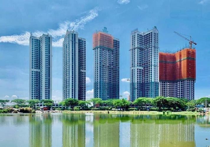 Eco Green Saigon Căn hộ Eco Green Saigon view thành phố, tầng trung.