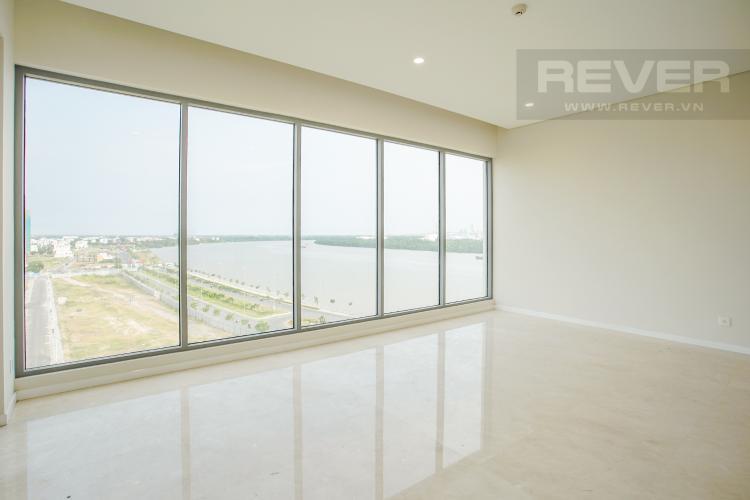 Phòng Khách Bán căn hộ Đảo Kim Cương tầng trung tháp Maldives, 3PN 2WC, view sông Sài Gòn mát mẻ