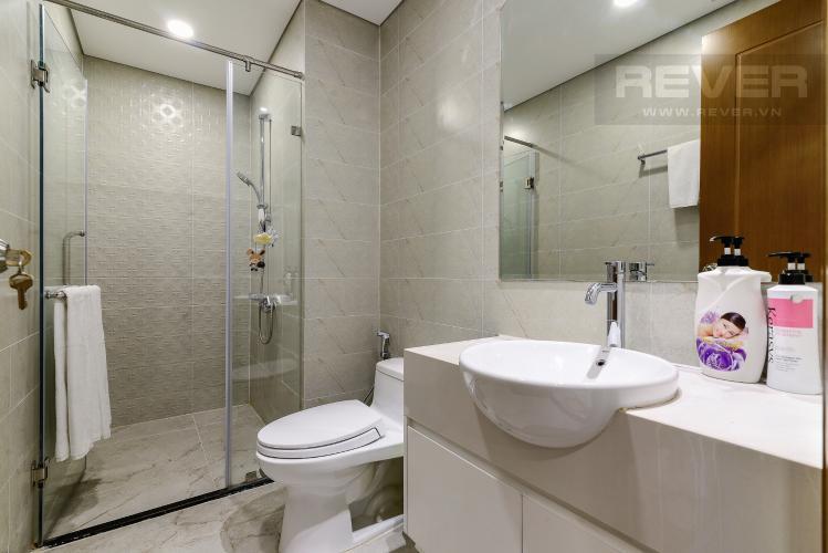 Phòng Tắm Cho thuê căn hộ Vinhomes Central Park 50.5m2 1PN 1WC, nội thất tiện nghi, view hồ bơi