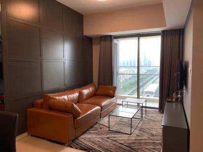 Căn hộ Gateway Thảo Điền tầng cao, view thành phố thoáng mát.