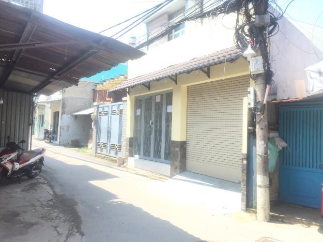 Mặt tiền nhà phố đường số 6, Thủ Đức Nhà phố ngã 3 hẻm tiện kinh doanh, hướng Đông Nam.