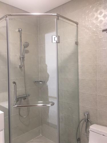 Phòng tắm Vinhomes Central Park Căn hộ Vinhomes Central Park tầng cao, bàn giao nội thất đầy đủ