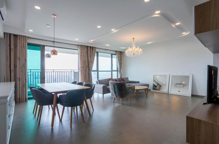 Căn hộ Riviera Point 3 phòng ngủ vị trí tầng cao T3 nội thất đầy đủ