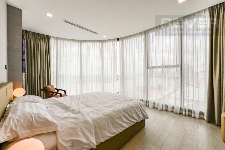 Phòng ngủ 1 Căn hộ Vinhomes Golden River 3 phòng ngủ tầng trung A4 view sông