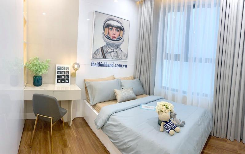 Phòng ngủ D'Lusso Quận 2 Căn hộ D'Lusso tầng thấp. bàn giao nội thất cơ bản.