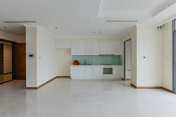 Phòng Bếp Căn hộ Vinhomes Central Park 3 phòng ngủ tầng trung L6 nhà trống