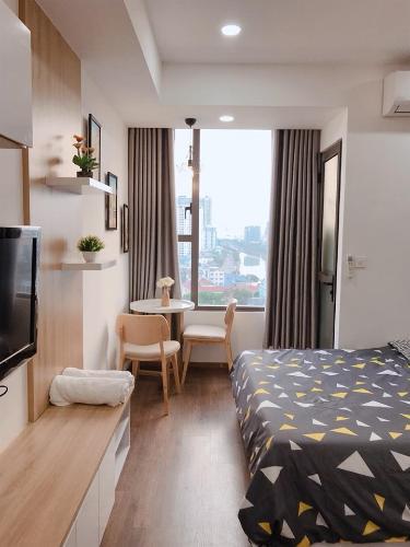 Cho thuê căn hộ RiverGate Residence 1PN, diện tích 26m2, đầy đủ nội thất, view thành phố