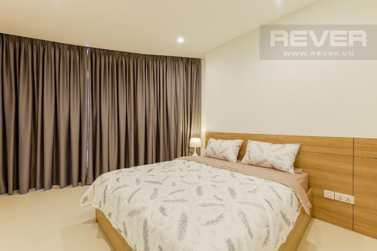Phòng ngủ 2 Căn hộ City Garden tầng cao, 2PN đầy đủ nội thất, view đẹp