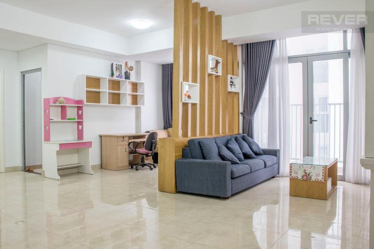 Phòng Khách Bán căn hộ Luxcity 2PN, tầng thấp, block A, diện tích 83m2, đầy đủ nội thất