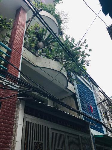 nhà phố quận 4 Nhà phố hẻm Đoàn Văn Bơ diện tích 3.14m x19.7m